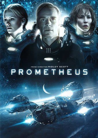 Prometheus DVD  2012  Directed by Ridley Scott; Starring ...