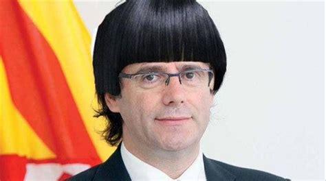 Puigdemont destierra el flequillo de su corte de pelo