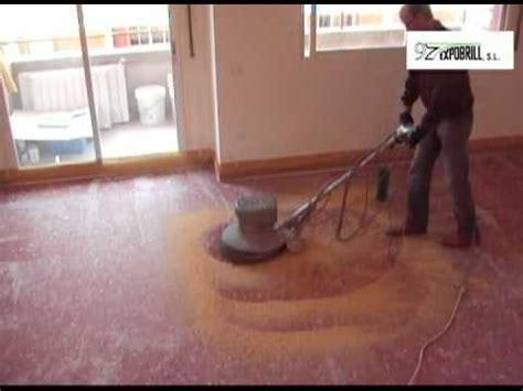 Pulir y abrillantar un suelo de terrazo   pulir terrazo ...