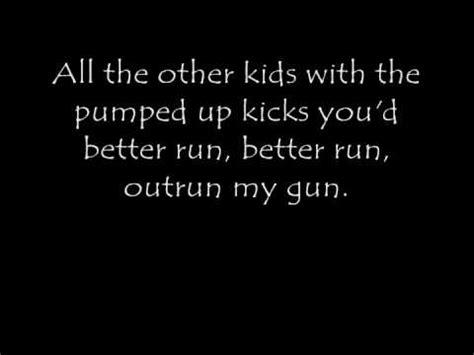 Pumped up kicks lyrics – buzzpls.Com