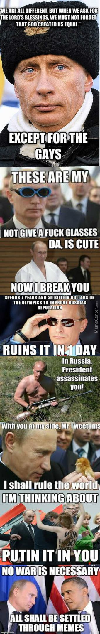 Putin Meme Compilation by res_novae   Meme Center