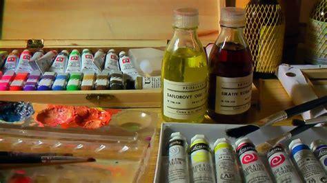 Qué materiales utilizar para pintar al óleo. Curso de ...