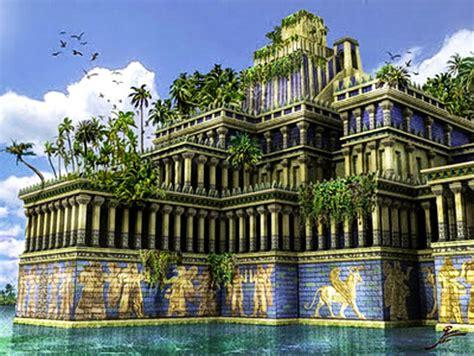 QUE VUELEN ALTO LOS DADOS: Los jardines colgantes de Babilonia