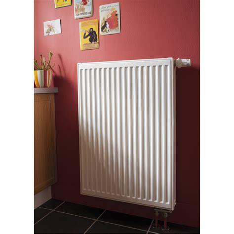 Radiateur chauffage central Double blanc, l.60 cm, 1012 W ...