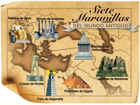 Ranking de Las siete maravillas del mundo antiguo   Listas ...