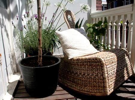Rattan para los muebles de terraza   Jardindecora flores y ...