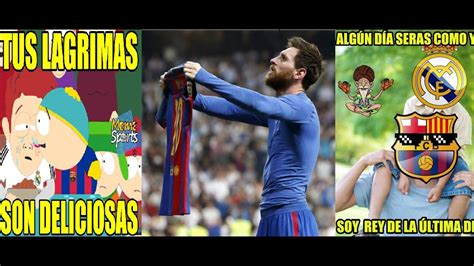 REAL MADRID vs BARCELONA 2 3 | Memes del Clásico | MESSI ...