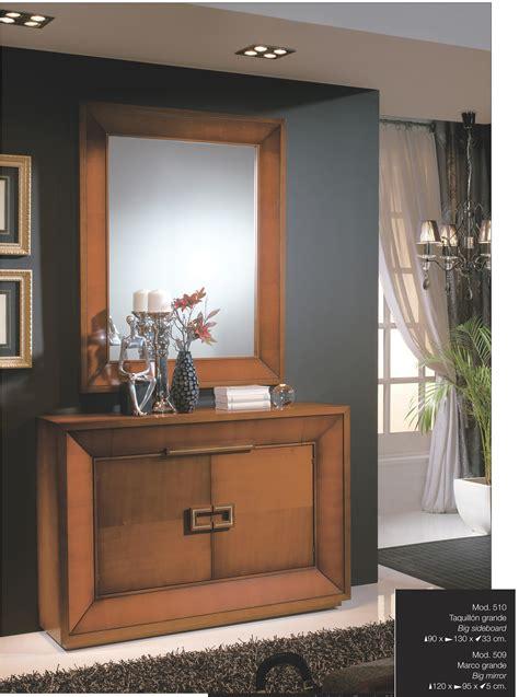 Recibidor clásico colonial madera diseño 667 510 | Mobles ...