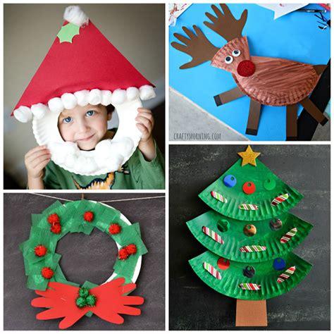 Reciclaje con platos de papel para Navidad | Manualidades