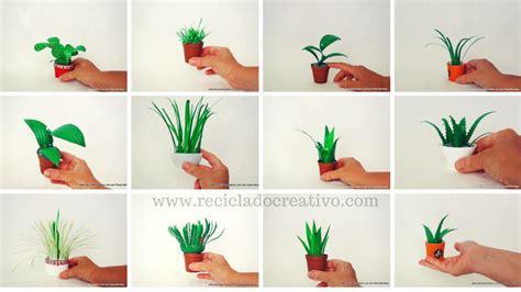 Recopilación de plantas en miniatura realizadas con ...