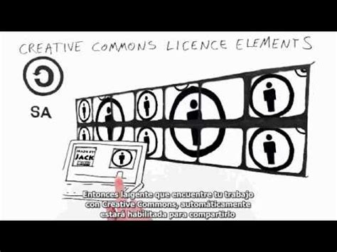 Recorrido por las licencias Creative Commons   YouTube