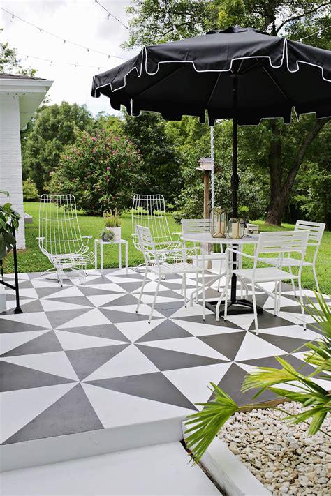 Renovar los pisos de un patio con pintura | Estilos Deco