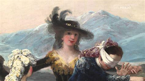 Restauración: La gallina ciega, de Francisco de Goya y ...