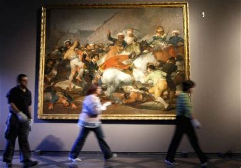 Restauradas la obras de la guerra de Goya. larioja.com