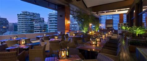 Restaurante Terraza   Hotel W Santiago  4° piso , Santiago ...