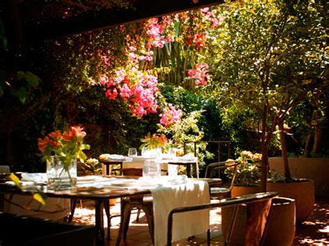 Restaurantes con jardín y con platos light. Un buen plan ...