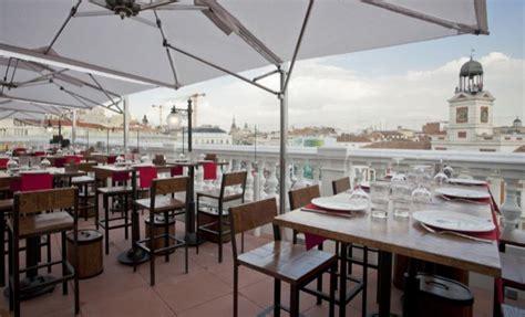 Restaurantes con terrazas para cenar en domingo en Madrid ...