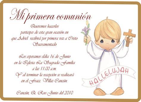 Resultado de imagen para invitaciones de primera comunion ...