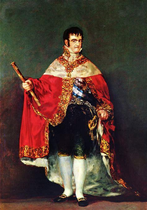 Retrato de Fernando VII , 1814   Francisco de Goya ...