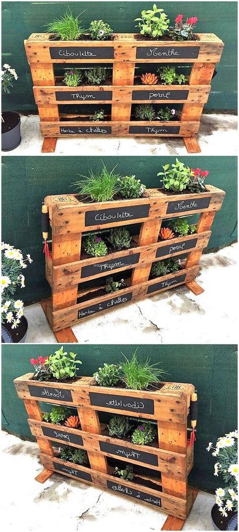 Reutilizar palets de madera en huerta casera ...