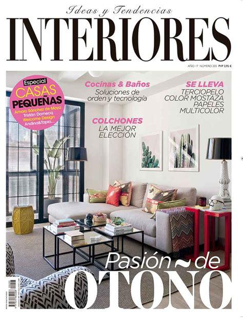 Revista Interiores. Ideas de decoración de interiores.
