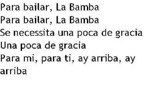 Ritchie Valens   La Bamba { with lyrics ;  }   YouTube