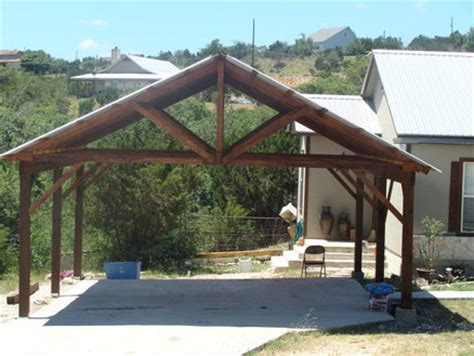 Romance Home Pimpa: Wood Carports Photos