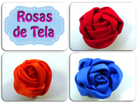 Rosas de tela | Manualidades