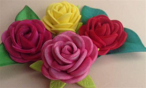 Rosas fáciles de goma eva | Manualidades en Goma Eva