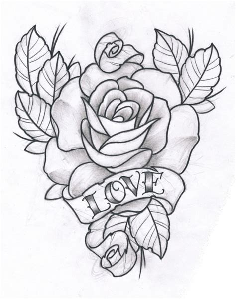 Rose and Love by ~TeroKiiskinen on deviantART | Tattoo ...