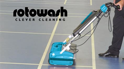 Rotowash hard surface floor cleaning machine   YouTube
