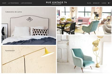 Rue Vintage 74   Tienda de decoración online | Melon & Co ...