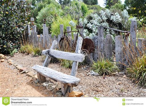 Rustic Garden Decor editorial stock image. Image of ...