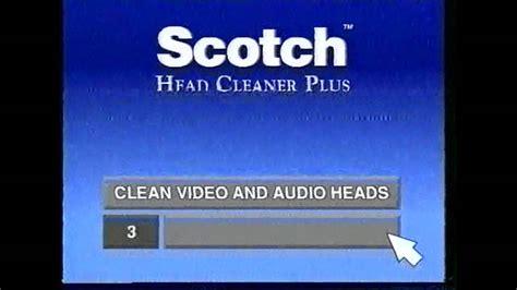 Scotch Head Cleaner Plus - YouTube