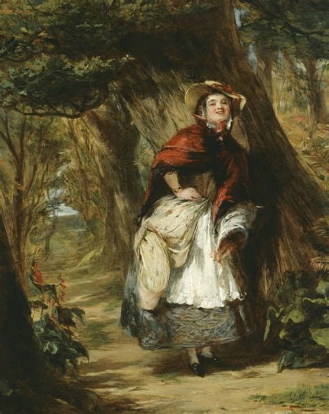 'Dolly Varden', William Powell Frith, c.1842 9 | Tate