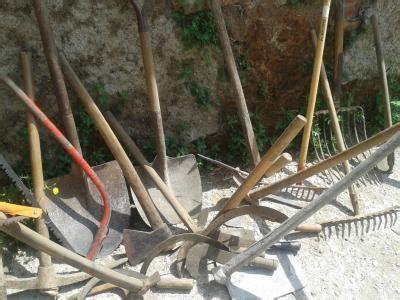 Se venden herramientas de campo + varios Barcelona