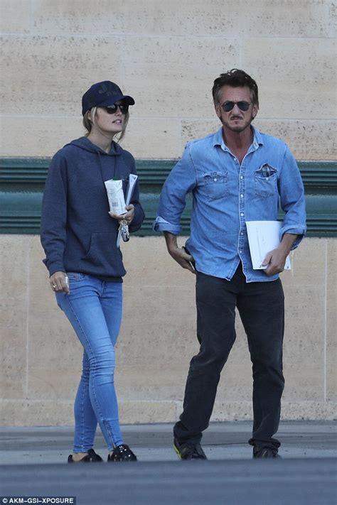 Sean Penn, 56, enjoys romantic dinner with new  girlfriend ...