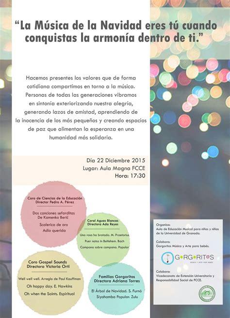 Secretaría General > Concierto de música coral del Aula de ...
