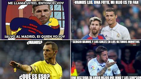 Sergio Ramos, protagonista de los  memes  del Clásico ...