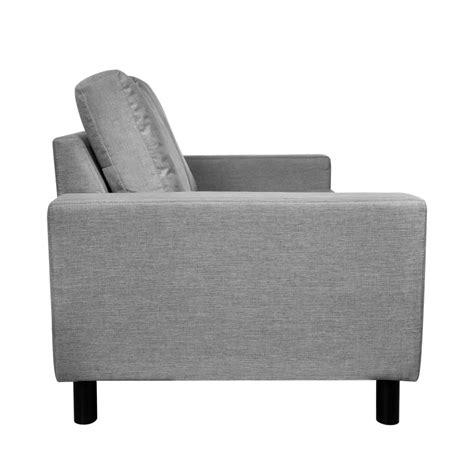 Set dos sofás de 2 y 3 plazas, color gris claro tienda ...