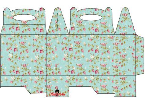 Shabby Chic: Cajas para Lunch, para Imprimir Gratis ...