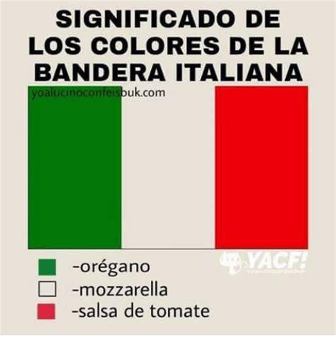 SIGNIFICADO DE LOS COLORES DE LA BANDERA ITALIANA ...