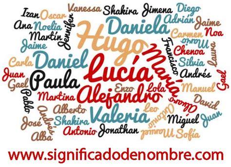Significado de Nombres » Busca el significado de tu nombre