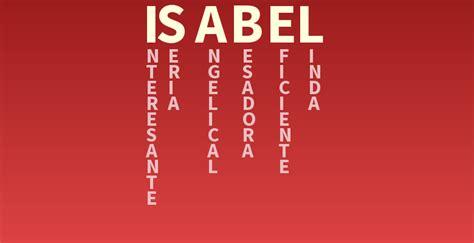 Significado del nombre: Isabel   Descubre el significado ...
