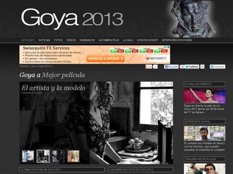 Sigue los Goya 2013 en directo, los Goya 2018