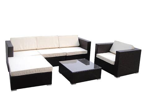 Sillones y mesa chill out jardín   Muebles de exterior