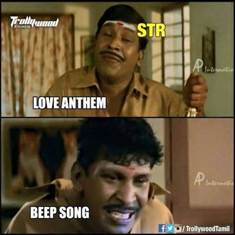 Simbu memes on beep song issue