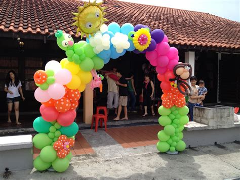 Singapore Customised Balloon Arch | THAT Balloons