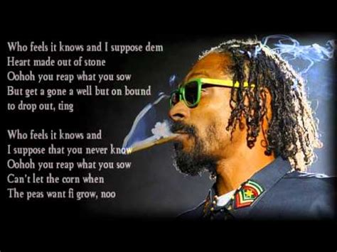 Snoop Lion   La La La  Lyrics    YouTube