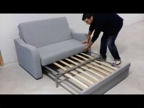 Sofá cama 2 plazas, ideal para pequeños espacios   YouTube